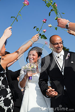 Turkish tunisian couple wedding