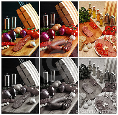 Turkish Wurst and Salami