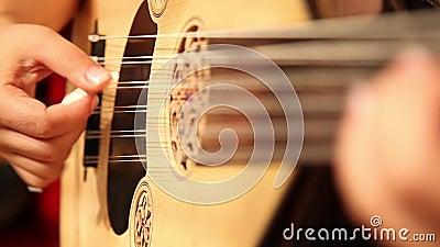 Turkse de Groeps Aziatische Cultuur van de Cultuur Klassieke Muziek stock videobeelden