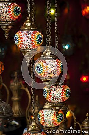 Turkse lampen