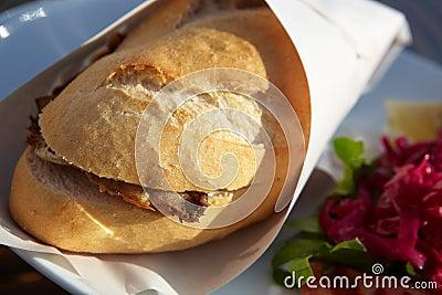 Turkse Vissen Baguette