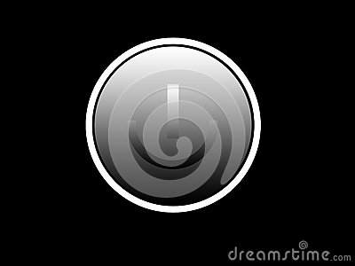 Turn On Button 4 Royalty Free Stock Image - Image: 5756916