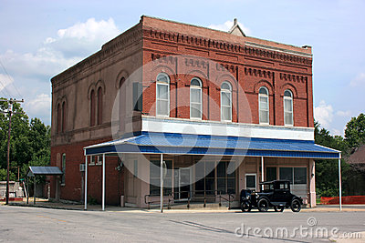 Turn of the Century Post Office & Model T Ford