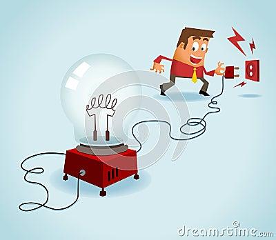 Turn on the idea