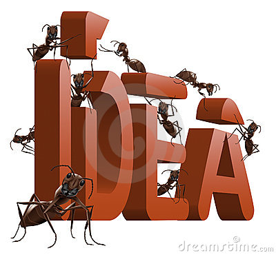 Turn ideas or inspiration idea into innovation