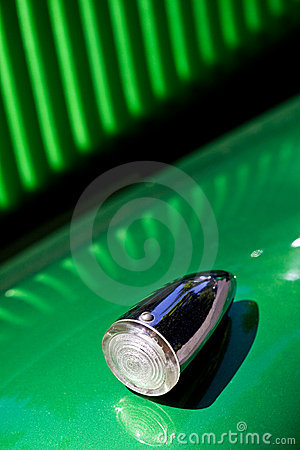 Turn signal of retro car