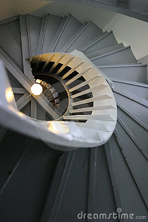 Free Turn-up Shot Of Spiral Stair Royalty Free Stock Images - 2681069