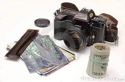 Turning photos into money