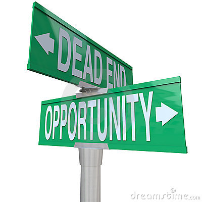Turning Point of Dead End or Opportunity