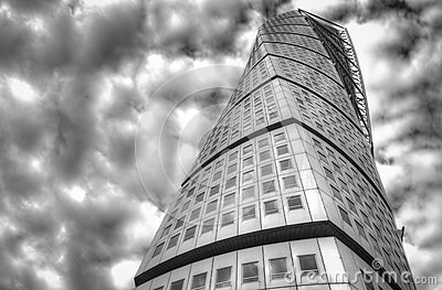 Turning Torso Editorial Stock Photo