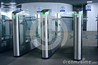 Turnstile metro