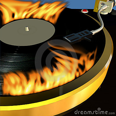 Free Turntable 3 Stock Photos - 669533