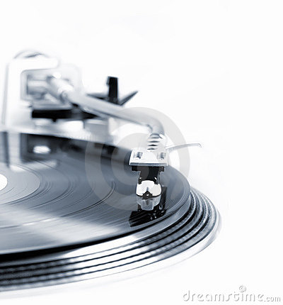 Turntable in motion