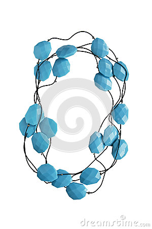 Free Turquoise Bead Royalty Free Stock Photos - 49547168