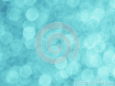 Turquoise Blue Green Background - Stock Photo