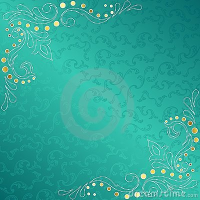 turquoise frame with delicate sari inspired swirls royalty filigree clip art design and borders software filigree clip art designs