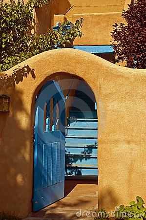 Turquoise gate