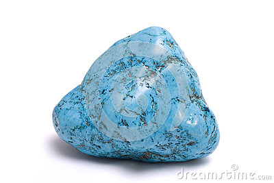 Turquoise isolated