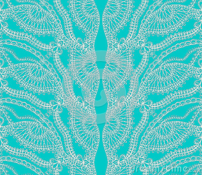 Turquoise lace
