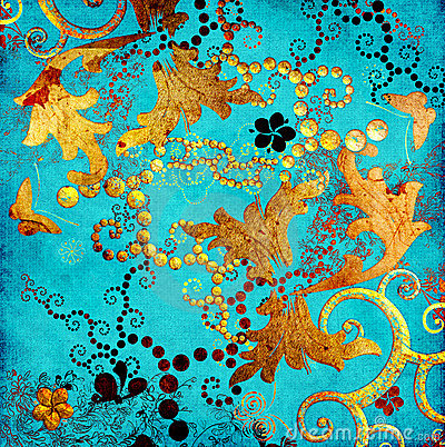 Turquoise patterns