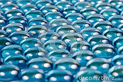 Turquoise pebbles