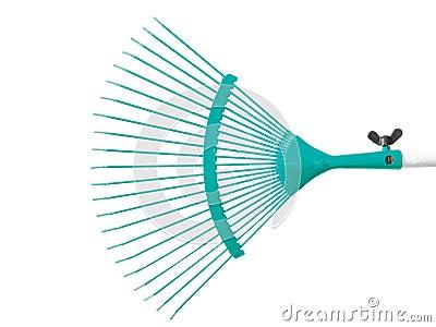 Turquoise raker