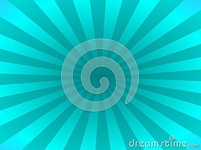 Turquoise rays