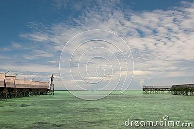 Turquoise Tropical Polynesian Paradise