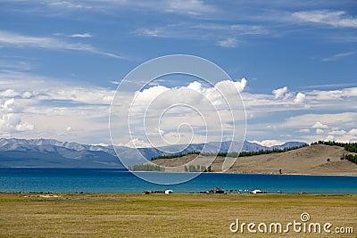 Turquoise Waters of Khovsgol Lake