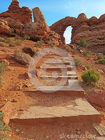Turret Arch - Arches National Park