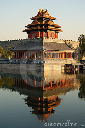 Free Turret, Forbidden City Stock Photo - 3574770