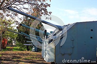 Turrets of canon