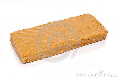 Turron de Jijona, typical sweet of Spain