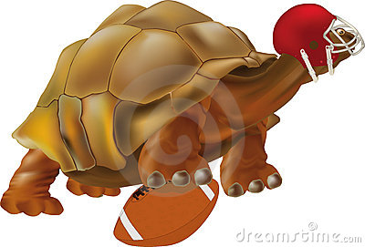 Turtle the football player