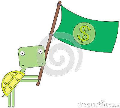 Turtle s flag