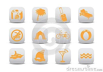 Turystyk ikony