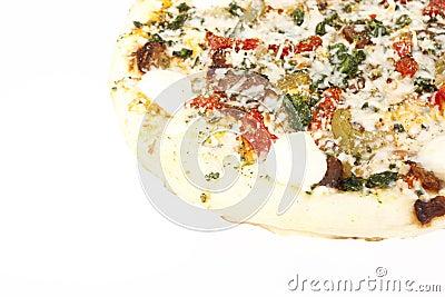 Tuscan Garden Pizza.