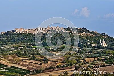 Tuscan village Montepulciano