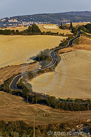 Tuscan Winding Roads