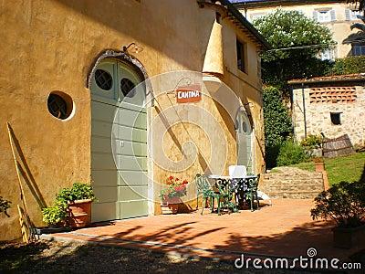 Tuscan winefarm and wine Tuscany Italy