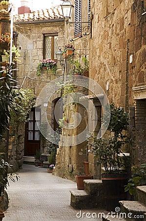 Tuscany alley