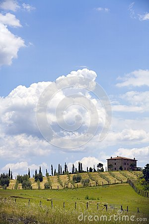 TUSCANY countryside,little farm