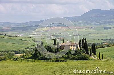 Tuscany hus