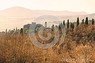 Tuscany landscape, Italy.