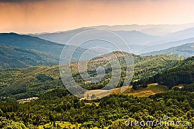 Tuscany landscape Italy