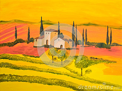 Tuscany in Orange