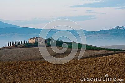 Tuscany, pienza, factory