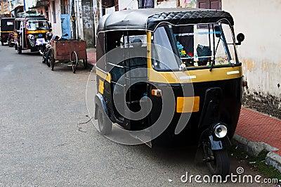 Tut-tuk - Auto rickshaw taxi in India