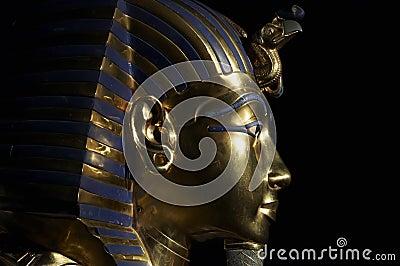 Tutankhamens golden mask