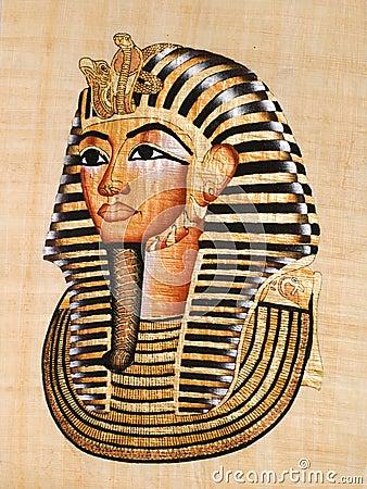 Tutankhamen s mask